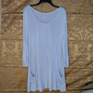 Long Blouse with pockets